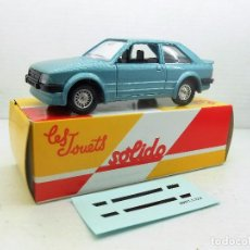 Coches a escala: 28 COCHE FORD ESCORT RS TURBO SOLIDO SALVAT CAR 1:43 MINIATURE MINIATURA L 1/43 . Lote 126892355