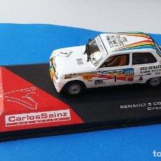 Auto in scala: COCHE DE COLECCIÓN MODELO RENAULT - 5 COPA DEL AÑO 1983, DEL CIRCUITO DEL JARAMA, CARLOS SAINZ.. Lote 127244815