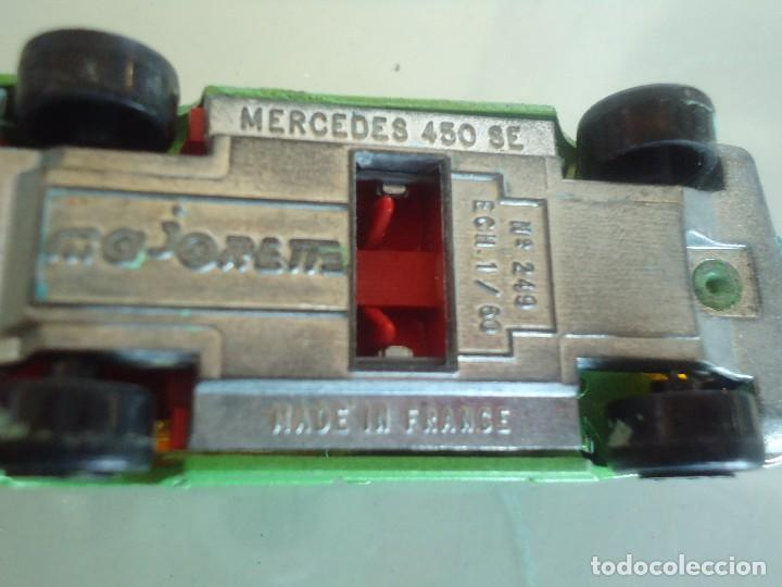 Coches a escala: MERCEDES 450 SE DE MAJORETTE - Foto 5 - 128126111