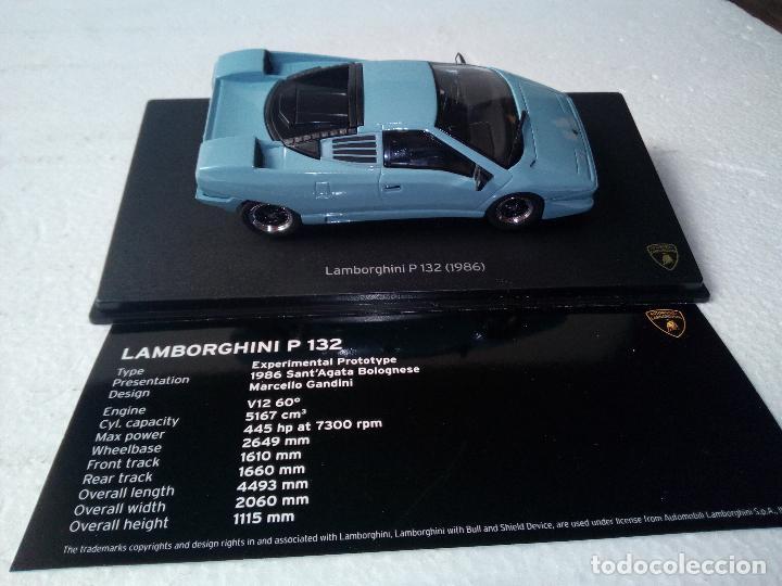 Coches a escala: -LAMBORGHINI P 132 1986 -PROTOTYPE-1/43-RARO-LEO MODELS- - Foto 8 - 128361571