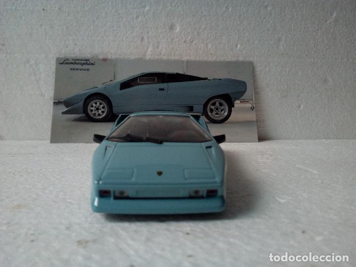 Coches a escala: -LAMBORGHINI P 132 1986 -PROTOTYPE-1/43-RARO-LEO MODELS- - Foto 15 - 128361571