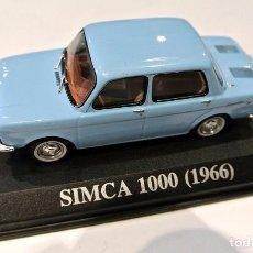 Coches a escala: * SIMCA 1000, 1966 1:43 , ALTAYA , NO A SIDO RODADO. Lote 128532363