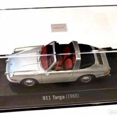 Coches a escala: * PORSCHE 911 TARGA (1966) , 1:43 , EDICIÓN LIMITADA PORSCHE, NUEVO CON CAJA. Lote 128569035