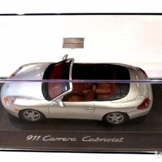 Coches a escala: COCHE PORSCHE 911 CARRERA CABRIOLET, ED. LTDA. PORSCHE , 1:43, NUEVO CON CAJA, WAP 020 040 97 *. Lote 128569615