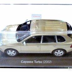 Coches a escala: COCHE PORSCHE CAYENNE TURBO (2002), ED. TDA.PORSCHE, 1:43, 1/43, NUEVO CON CAJA, WAP C20 SET 01 *. Lote 128572195