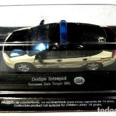 Coches a escala: COCHE DE POLICIA DODGE INTREPID TENNESSEE STRATE TROOPER 2003 U.S.A. 1:43, DEAGOSTINI, NUEVO *. Lote 128871887