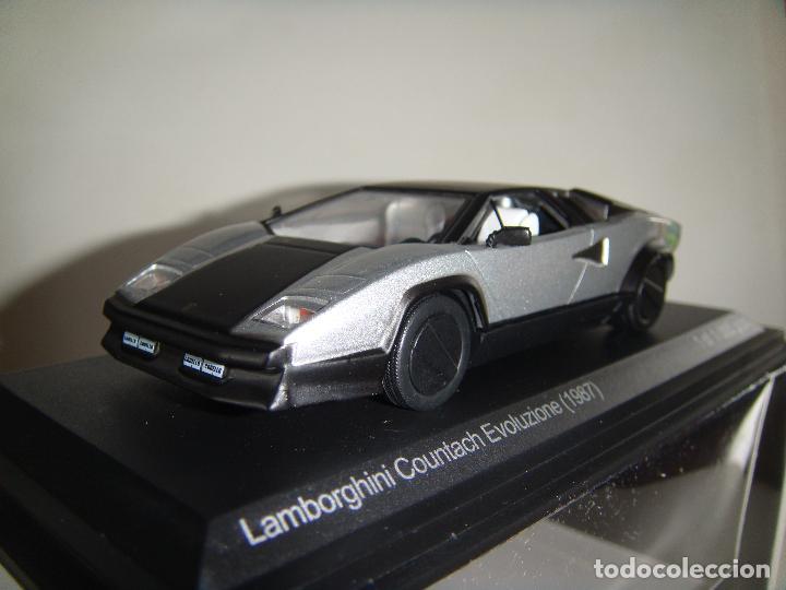 Lamborghini Countach Evoluziones Esc 1 43 Whi Buy Model Cars At
