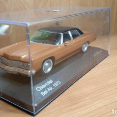 Coches a escala: CHEVROLET BEL AIR, 1973, BICOLOR, EDICION LIMITADA, 1:43, WHITEBOX, NUEVO . Lote 130500938