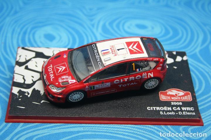 ELENA RALLY MCARLO 2008 SCALA 1\43 CITROEN C4 WRC S.LOEB-D