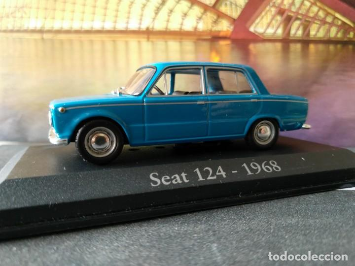 SEAT 124 1968 IXO -SALVAT, 1/43, NUEVO (Juguetes - Coches a Escala 1:43 Otras Marcas)