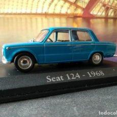 Coches a escala: SEAT 124 1968 IXO -SALVAT, 1/43, NUEVO. Lote 131030124