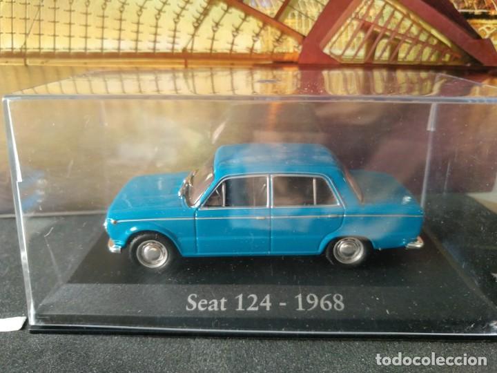 Coches a escala: SEAT 124 1968 IXO -SALVAT, 1/43, NUEVO - Foto 6 - 131030124