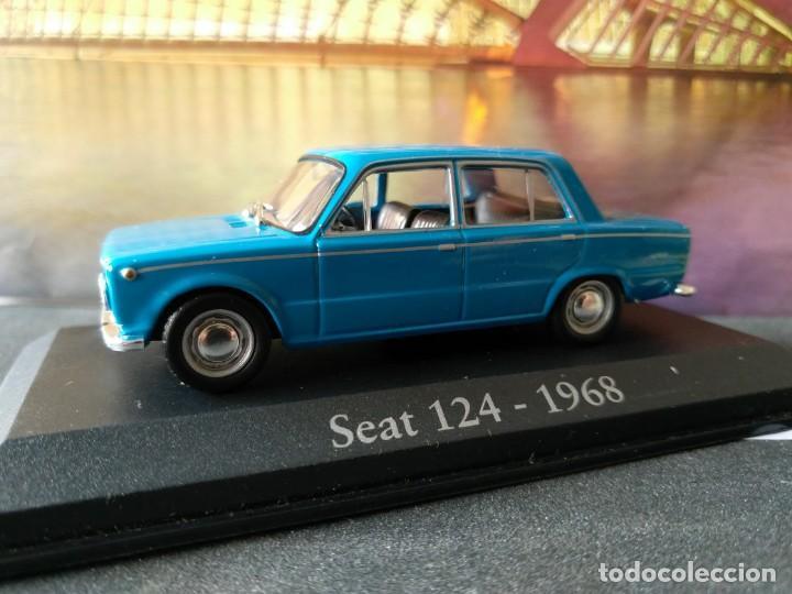 Coches a escala: SEAT 124 1968 IXO -SALVAT, 1/43, NUEVO - Foto 7 - 131030124