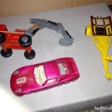 Coches a escala: TRES VEHÍCULOS SUPERKINGS SPEED KINGS MATCHBOX 1:43 AÑOS 70 Y 80. Lote 131053000