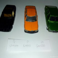 Coches a escala: GUILOY NOREV SOLIDO 1,43. Lote 131296226
