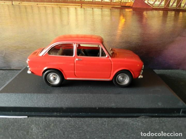 FIAT - SEAT, 850 DE 1967, ROJO, IXO SALVAT, 1/43, NUEVO (Juguetes - Coches a Escala 1:43 Otras Marcas)