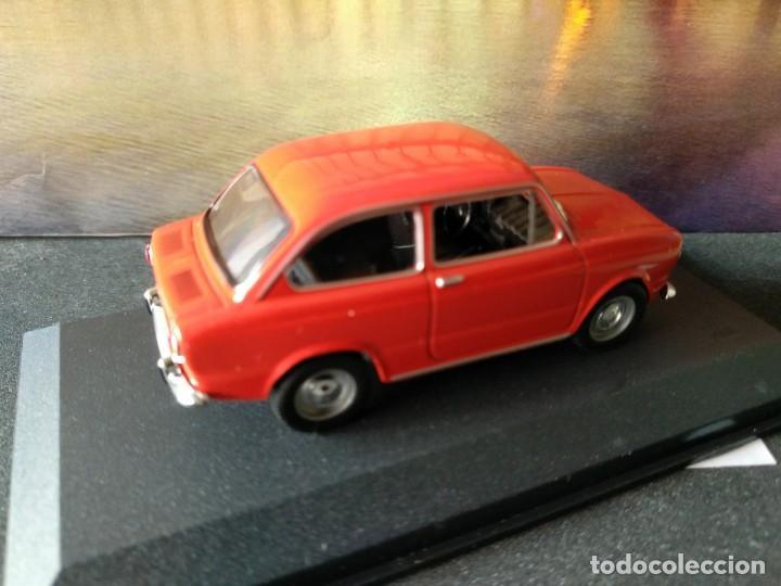 Coches a escala: FIAT - SEAT, 850 DE 1967, ROJO, IXO SALVAT, 1/43, NUEVO - Foto 3 - 131665218