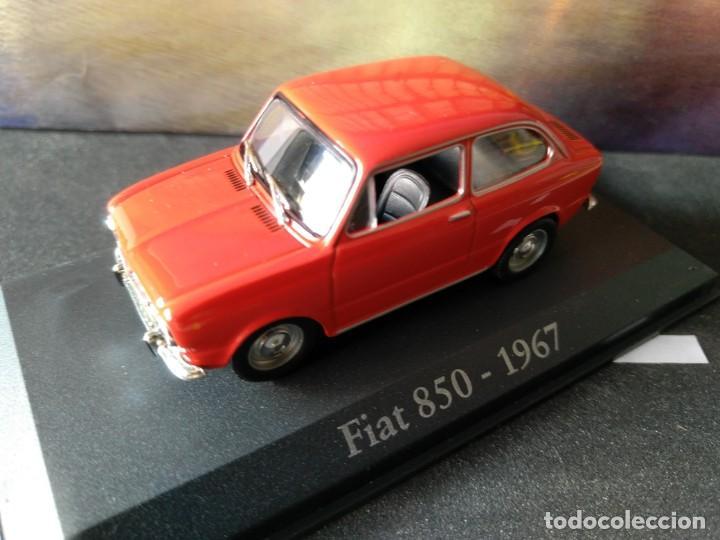 Coches a escala: FIAT - SEAT, 850 DE 1967, ROJO, IXO SALVAT, 1/43, NUEVO - Foto 4 - 131665218