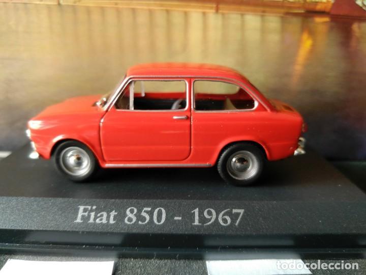 Coches a escala: FIAT - SEAT, 850 DE 1967, ROJO, IXO SALVAT, 1/43, NUEVO - Foto 5 - 131665218