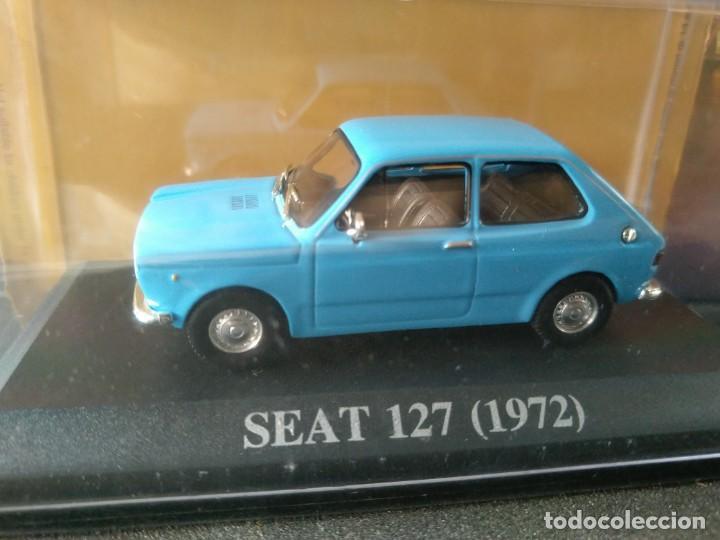 SEAT, 127 DE 1972, AZUL CELESTE, IXO SALVAT, 1/43, NUEVO (Juguetes - Coches a Escala 1:43 Otras Marcas)