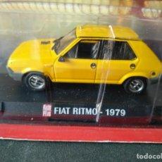 Coches a escala: FIAT - SEAT, RITMO 1979 AMARILLO, IXO 1/43, NUEVO. Lote 131737618