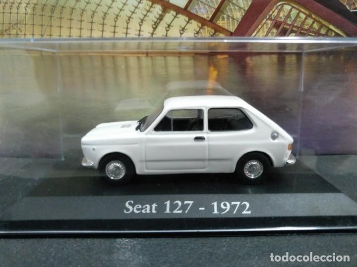 SEAT 127 1972 IXO SALVAT, 1/43, NUEVO (Juguetes - Coches a Escala 1:43 Otras Marcas)