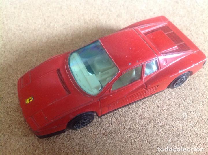 Coches a escala: Coche metal Ferrari Testarossa Burago 1/43 - Foto 2 - 132379162
