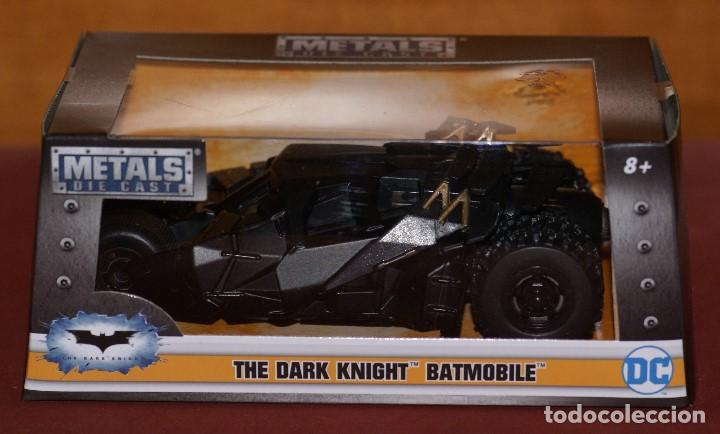 Coches a escala: COCHE BATMAN BATMOBILE THE DARK NIGHT APROX ESCALA 1:43 DE JADA EN caja - Foto 8 - 133032078
