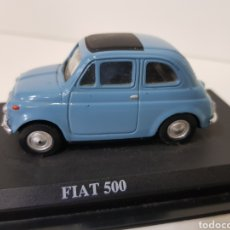 Coches a escala: FIAT 500 1957 - DEL PRADO COLLECTION - ESCALA 1:43. Lote 133259942