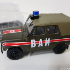 Coches a escala: YA3-469 BAN - COCHE POLICIAL RUSO (SOVIÉTICO) - ESCALA 1:43. Lote 133317750