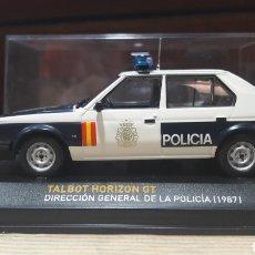 Coches a escala: TALBOT HORIZON GT POLICIA 1987. Lote 136547886