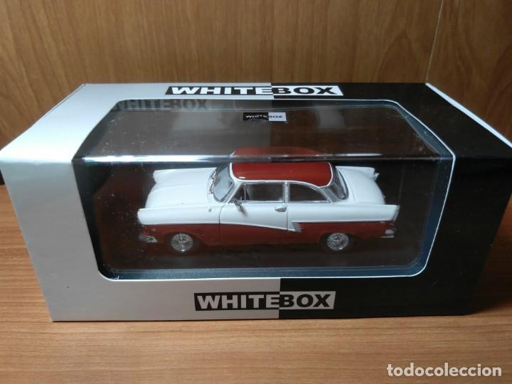 Coches a escala: FORD 17M, DE 1957, WHITEBOX, NUEVO, 1/43 SERIE LIMITADA. - Foto 2 - 133864750