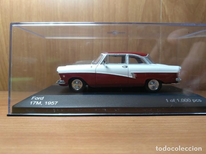 Coches a escala: FORD 17M, DE 1957, WHITEBOX, NUEVO, 1/43 SERIE LIMITADA. - Foto 4 - 133864750