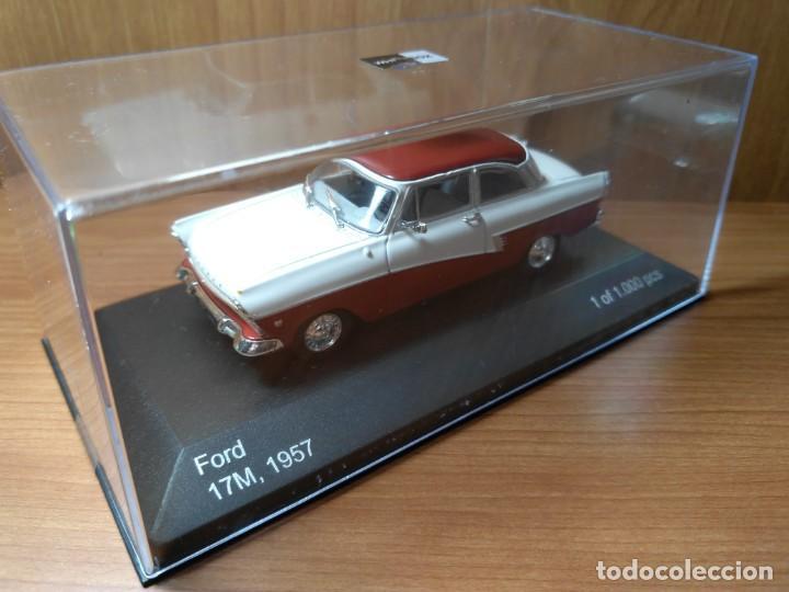 Coches a escala: FORD 17M, DE 1957, WHITEBOX, NUEVO, 1/43 SERIE LIMITADA. - Foto 7 - 133864750