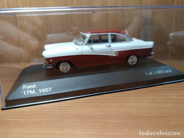 Coches a escala: FORD 17M, DE 1957, WHITEBOX, NUEVO, 1/43 SERIE LIMITADA. - Foto 9 - 133864750