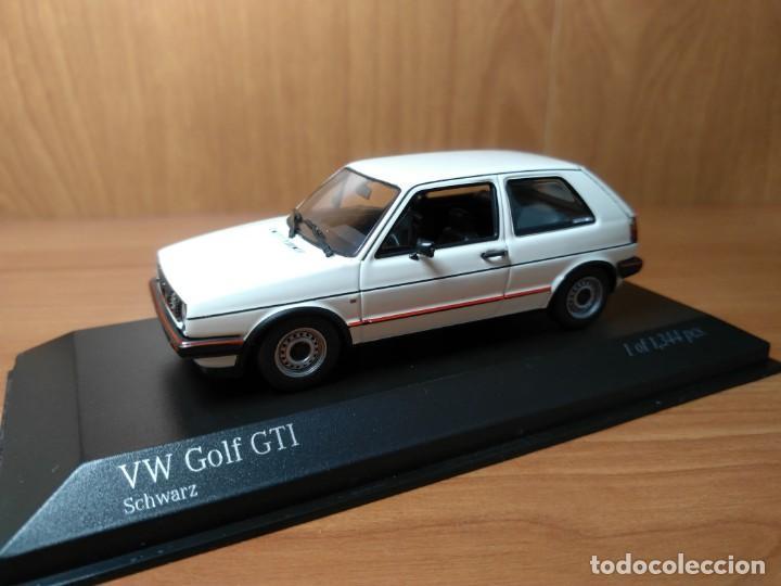 Coches a escala: VOLKSWAGEN GOLF GTI, 1985,, 1/43, de MINICHAMPS, NUEVO - Foto 11 - 133977946