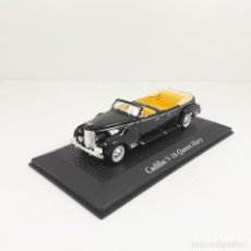 Coches a escala: 1/43	CADILLAC V16 HARRY TRUMAN QUEEN MARY NEGRO WHITEBOX. Lote 134031546