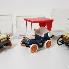 Coches a escala: GUISVAL - 1960 LOTE 3 COCHES CLÁSICOS ESCALA 1:43 - MADE IN SPAIN. Lote 134260486