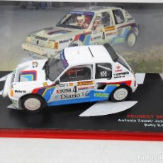 Model Cars - 2710 COCHE PEUGEOT 205 T16 ZANINI AUTET RALLY RACE 1985 RALLYE 1:43 CAR 1/43 - 134281686