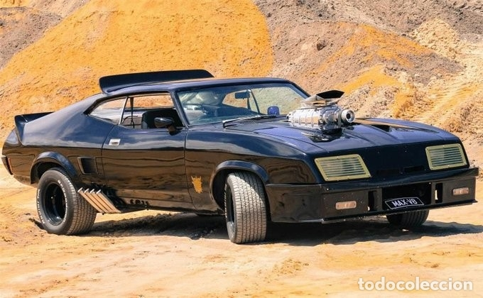 Ford Falcon Xb Interceptor 1973 ( Mad max ) ESCALA 1:43 DE Greenlight EN SU  CAJA