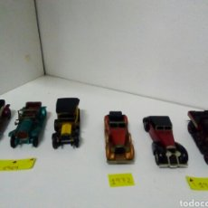 Coches a escala: LOTE 6 COCHES MATCHBOX 1/43 MUY ANTIGUOS. Lote 134815562