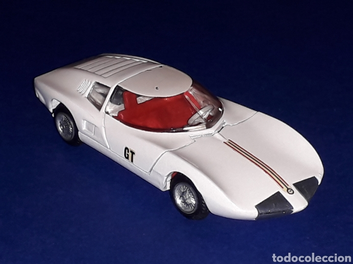 Coches a escala: Chevrolet Corvair Monza GT ref. 930, metal esc. 1/43, Tekno made in Denmark, original años 60 - Foto 9 - 134875142