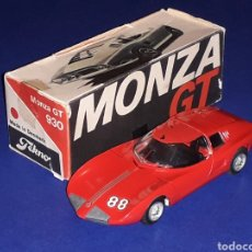 Coches a escala: CHEVROLET CORVAIR MONZA GT REF. 930, METAL ESC. 1/43, TEKNO MADE IN DENMARK, ORIGINAL AÑOS 60. CAJA.. Lote 134875310