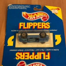 Coches a escala: COCHE HOT WHEELS FLIPPERS 2 IN 1 MATTEL 1990 REF 6010. Lote 135540482