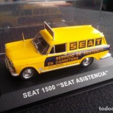 Coches a escala: SEAT 1500 SEAT ASISTENCIA - ALTAYA. Lote 135936186