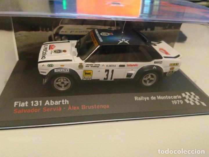 COCHE SEAT FIAT 131 ABARTH RALLYE 1:43 IXO model car rally montecarlo 1979