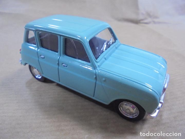 Coches a escala: COCHE METAL. RENAULT 4L 1964. SOLIDO MADE IN FRANCE. 48 GRAMOS 8 CM. - Foto 1 - 136433014