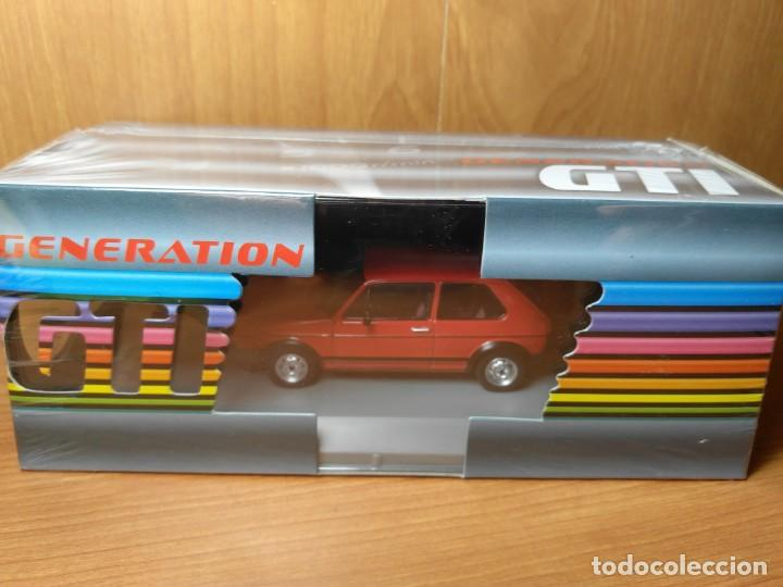 Coches a escala: VOLKSWAGEN GOLF GTI MKI, ROJO, GTI COLLECTION , 1/43 NUEVO - Foto 6 - 136522810