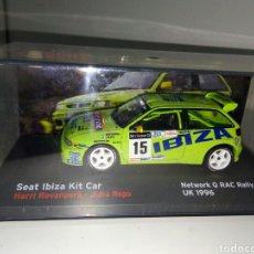 Coches a escala: SEAT IBIZA KIT CAR 1/43 RALLY. Lote 136644921