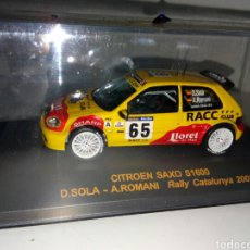 Coches a escala: CITROEN SAXO WRC NUEVO 1/43. Lote 177778725
